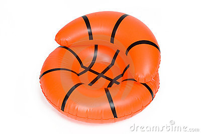 Inflatable Basketball Chair Pool Toy