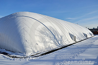 Inflatable Dome for Sports Field