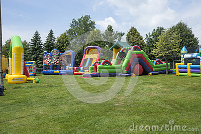 Inflatable playground 2 Editorial Image
