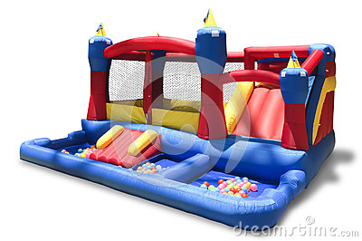 Inflatable children s playground