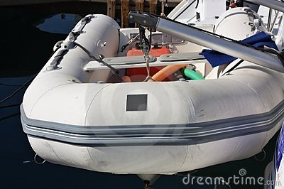 Inflatable Rescue Boat Stock Photos - Image: 17558343