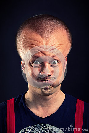 Inflated Head Royalty Free Stock Photo - Image: 26655045