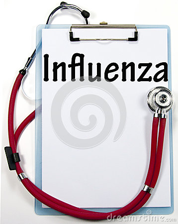 Influenza diagnosis sign