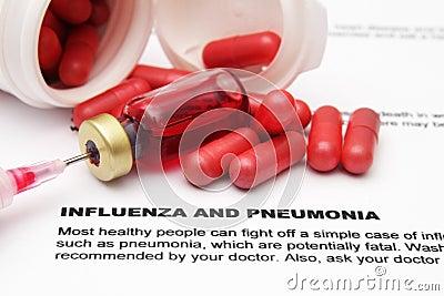 Influenza and pnemonia
