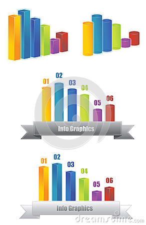 Info graphic 3D