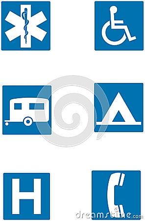 Info traffic signs