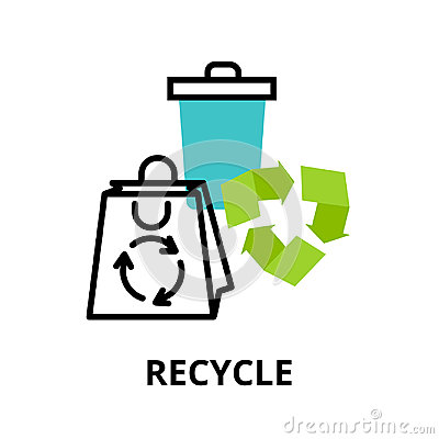 Free Infographic Concept Of Recycle And Environmental Protection Royalty Free Stock Images - 96238479