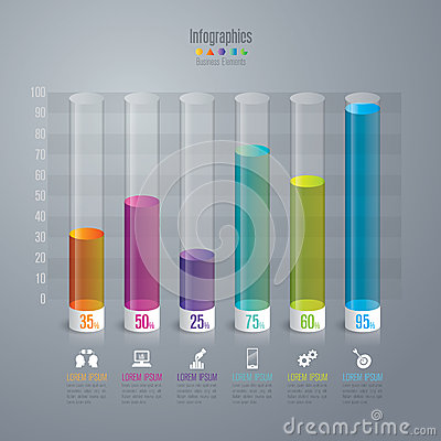 Free Infographic Design And Marketing Icons. Royalty Free Stock Photo - 61398195