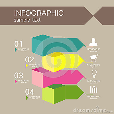 Infographic Ideas easy infographic template : Infographic Template Graphic Elements Illustration. Stock Photo ...