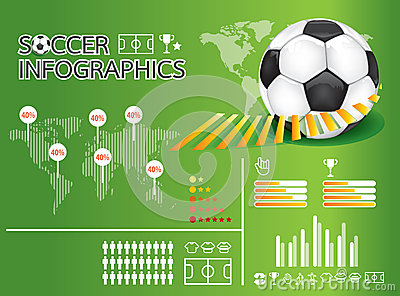 Infographic soccer