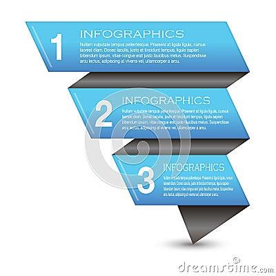 Infographic sztandaru projekta elementy