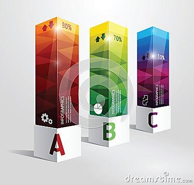 Free Infographic Template Modern Box Design Minimal Sty Stock Image - 37963261