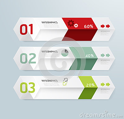 Free Infographic Template Modern Box Design Minimal Style Stock Photo - 36808180