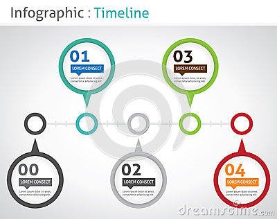Infographic Timeline Royalty Free Stock Photos - Image ...