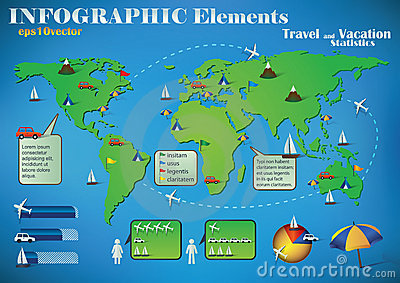 Infographic Travel Elements