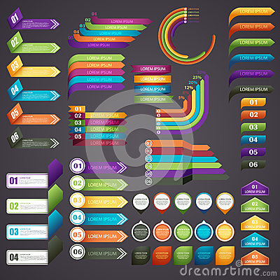 Free Infographics Royalty Free Stock Images - 53957189