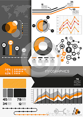 Infographic Vector Set