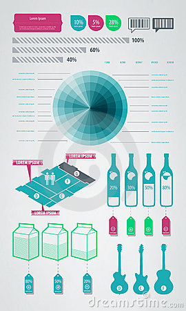 Infographics element icons