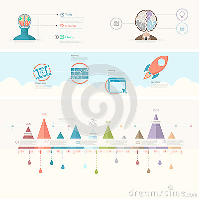 Infographics Elements Stock Vector - Image: 46356006