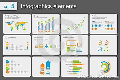 Free Infographic free infographics icons : Infographics Elements With Icons Part 2 Royalty Free Stock Photo ...