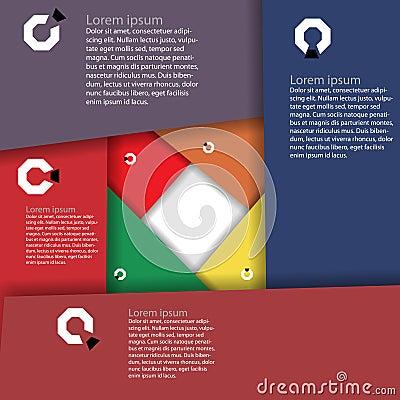 Infographics-Entwurf
