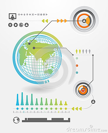 Infographics Set And Information Graphics Royalty Free Stock Image - Image: 28671076