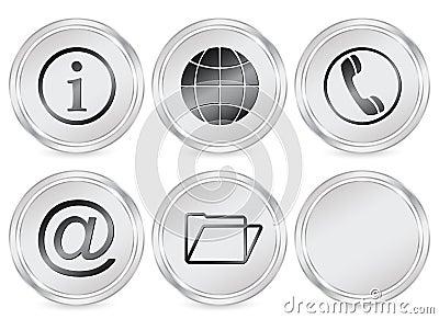 Information circle icon
