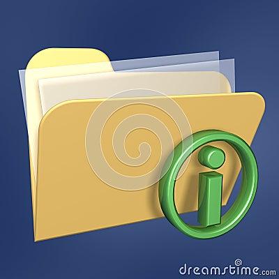 Information files  folder