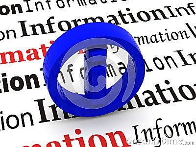 Information. Symbol
