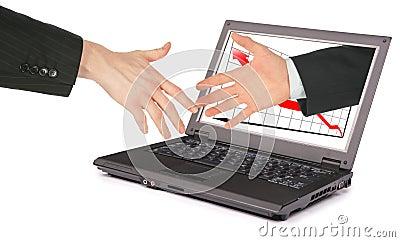 Information technology computer partnership