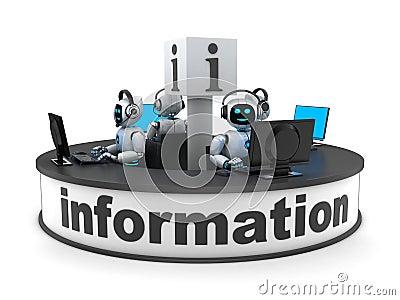 Informationsstellenabteilung und AI