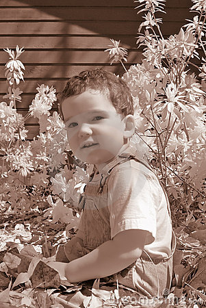 Infrared Boy Toddler
