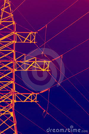 Infrared electric pylon