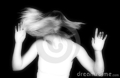 Infrared Hair Spin