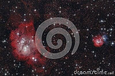 Infrared nebulaes