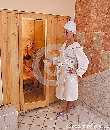 Free Infrared Sauna Royalty Free Stock Photo - 21679565