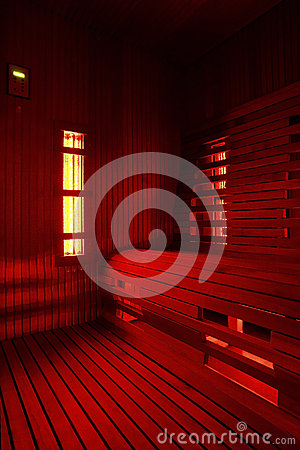 Free Infrared Sauna Cabin Royalty Free Stock Images - 39387689