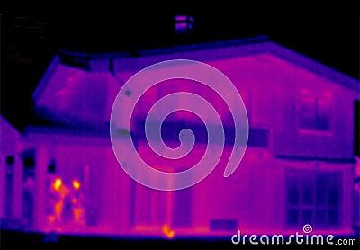 Infrarood huis