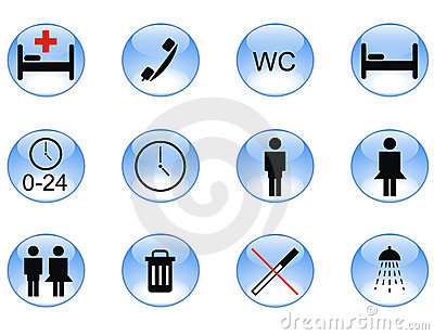 Infrastructure icon set