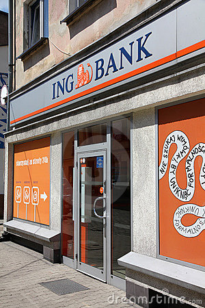 ING Bank Editorial Photo