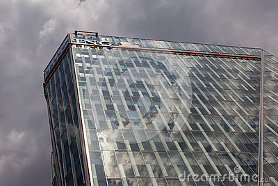 ING Bank Headquarters Editorial Stock Image