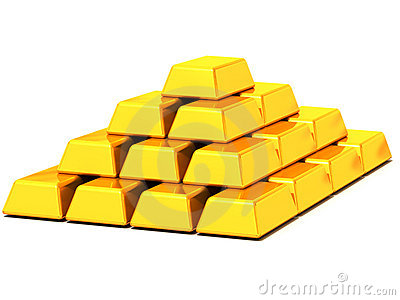 Ingots gold