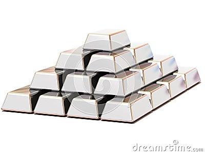 Ingots silver