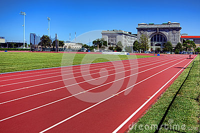 Ingram Field Athletic Field Track at Naval Academy