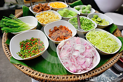 Ingredient for thai food