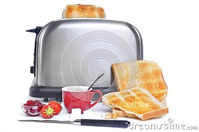 Ingredientes da refeição matinal