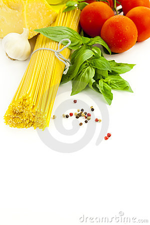 Ingredients for Italian cooking