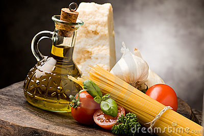 Ingredients for Italian Pasta 2