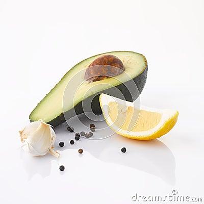 Free Ingredients Of Avocado Cream Stock Image - 31705701