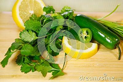 Ingredients for Seasoning Salsa